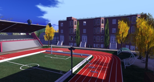 Rocky Valley High School, photographed by Wildstar Beaumont