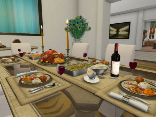 Thanksgiving Dinner at Aisling's home