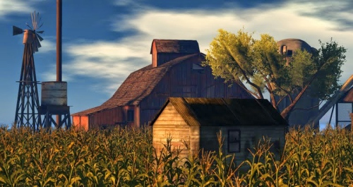 The Cornfield – photograph by Wildstar Beaumont