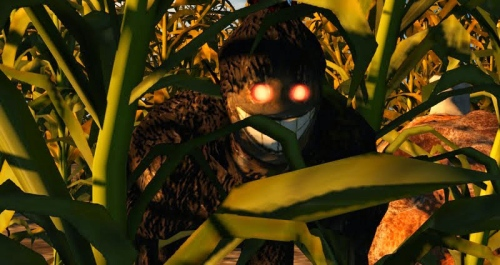 Something in the Cornfield – photograph by Wildstar Beaumont