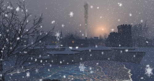 Winter in Winterfell by Wildstar Beaumont