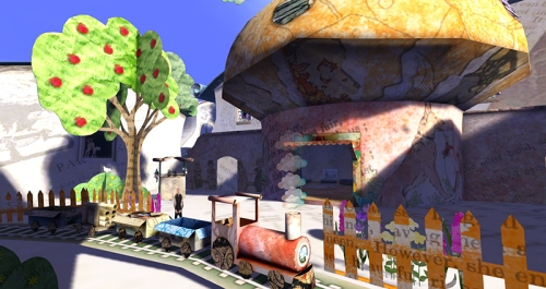 Fantasy Faire 2015: Poppetsborough, designed by Luna Barak, Alrunia Ahn and Kyra Reiter: photographed by Wildstar Beaumont