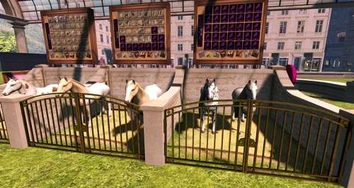 Breedable horses at ~Ladies' Pleasure~