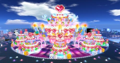 Cake Stage at SL12B