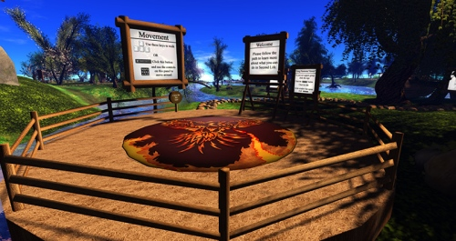 Firestorm Community Gateway, photographed by Wildstar Beaumont