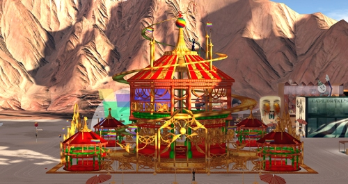 Burn2 2015 - the Temple, photographed by Wildstar Beaumont