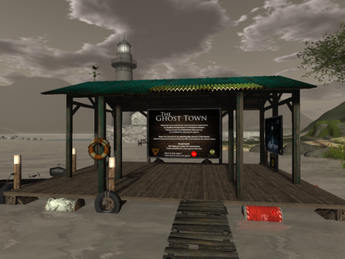 The Ghost Town, a game by MadPea at the Firestorm Community Gateway