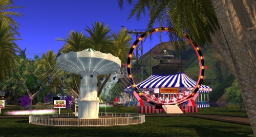 Ian and Amy's Amusement Park, photographed by Wildstar Beaumont