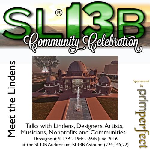 Talks at SL13B
