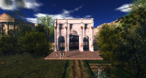 Buckingham Palace in Antiquity, photographed by Wildstar Beaumont