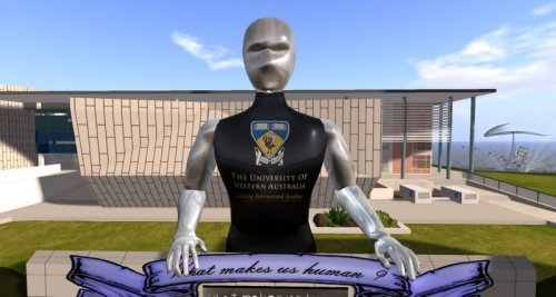 The University of Western Australia in Second Life, photographed by Wildstar Beaumont