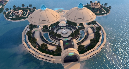 Horizons Info Island, photographed by Wildstar Beaumont