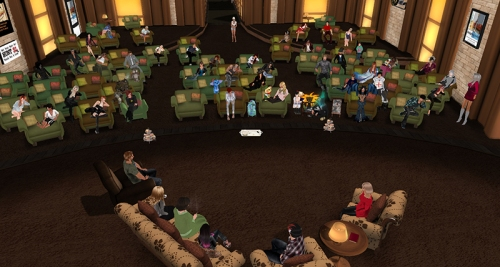 The Future of Second Life discussion, photographed by Wildstar Beaumont