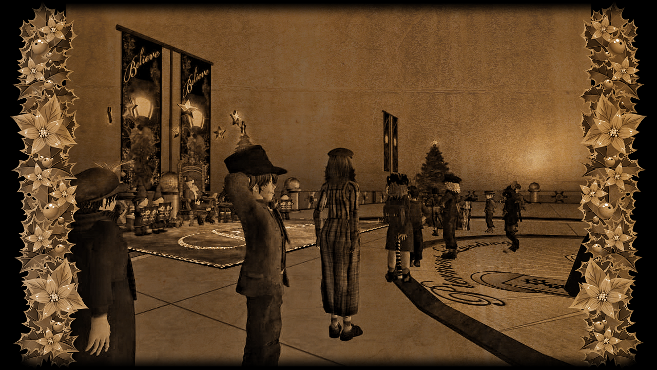 Christmas with the Urchins in New Babbage, photographed by Miss Bookworm Heinrichs