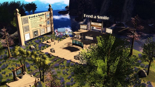 Feed A Smile Island, photographed by Wildstar Beaumont