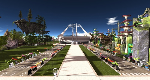 Main auditorium at the Home and Garden Expo, photographed by Wildstar Beaumont