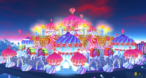 SL14B: the Cake Stage, photographed by Wildstar Beaumont