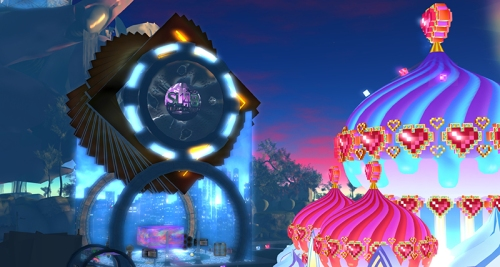 SL14B: TJ's Magic and the Cake Stage, photographed by Wildstar Beaumont
