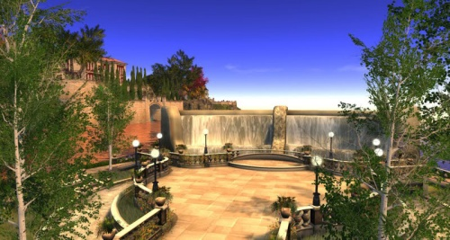The concert area at the Riviera Estate, photographed by Wildstar Beaumont