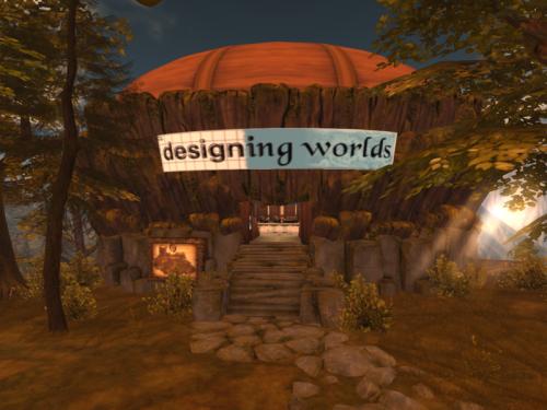 Designing Worlds studio on Garden of Dreams