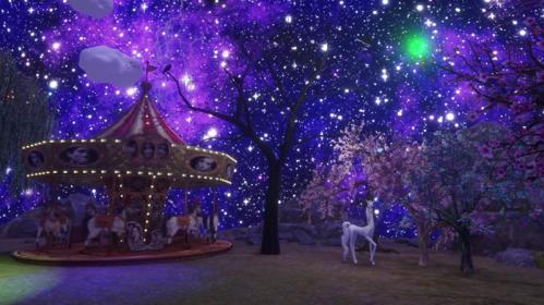 Starry Stars and Stuff in Sansar