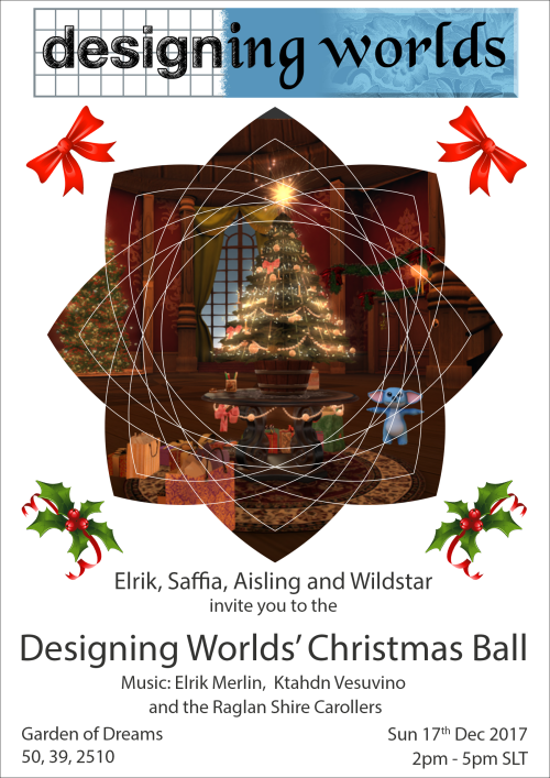 Designing Worlds Christmas Ball 2017