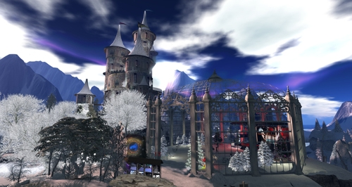 Winter Citadel, photographed by Wildstar Beaumont