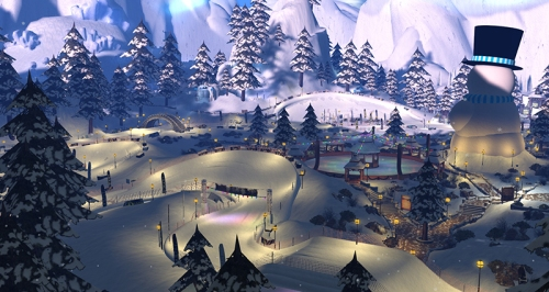 Winter Wonderland, photographed by Wildstar Beaumont