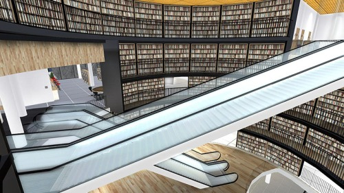 City of Birmingham Library, photographed by Wildstar Beaumont