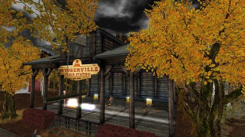 Octoberville, photographed by Wildstar Beaumont