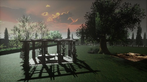Picnic at Mr Darcy's on Sansar, photographed by Wildstar Beaumont