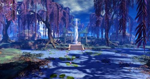 The Willows of Nienna, photographed by Wildstar Beaumont