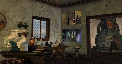 Second Life Public Land Preserve - Alice - Alchemist's Lab, photographed by Wildstar Beaumont
