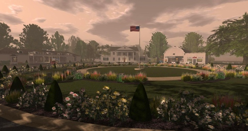 New Deal community of Dyess, photographed by Wildstar Beaumont