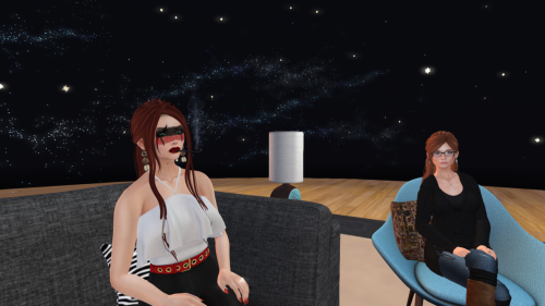 "Designing Worlds discusses ""original mesh"": Kaerri Rae and Isla Gealach"