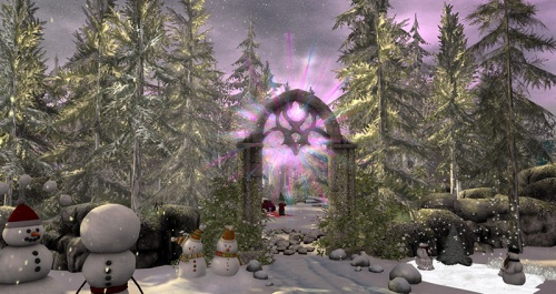 Christmas Expo, photographed by Wildstar Beaumont