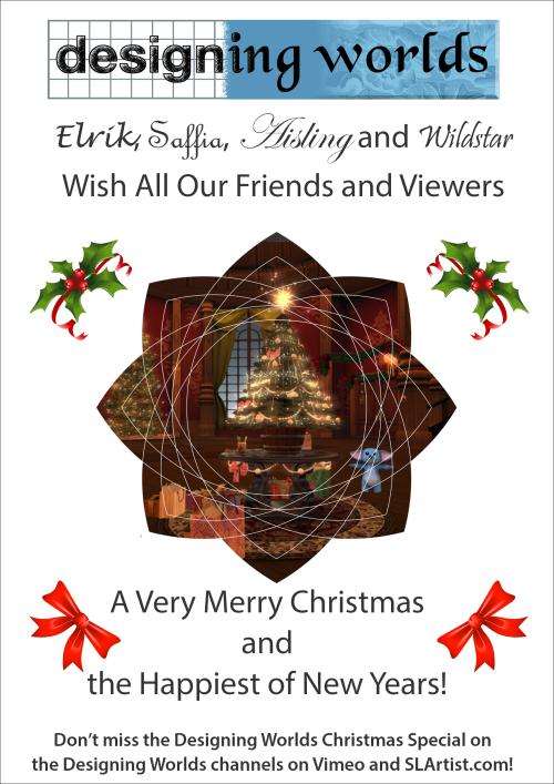 Designing Worlds Christmas Card 2018