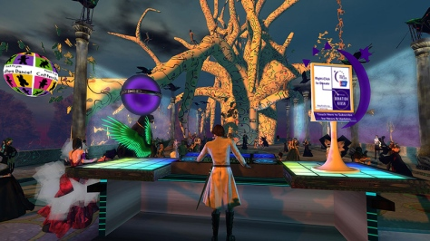 Masked Ball on Genesia, photographed by Wildstar Beaumont
