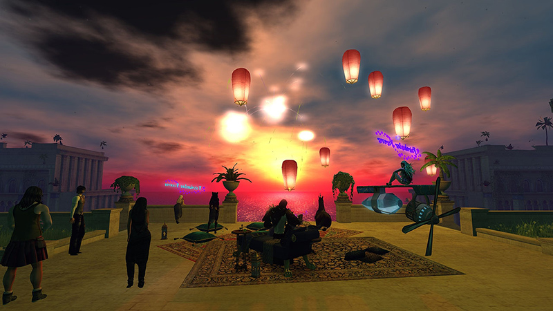 Waiting for the Fairelands to disappear into the mists, photographed by Wildstar Beaumont