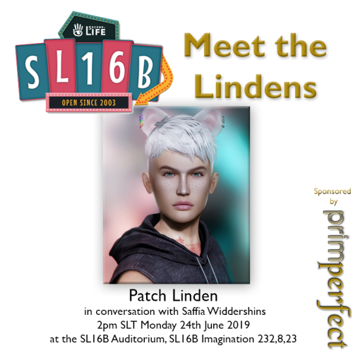Talks at SL16B: Meet the Lindens: Patch