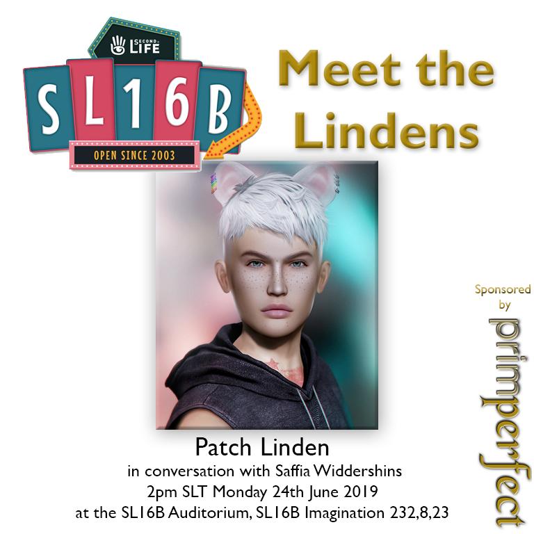 Talks at SL16B: Meet the Lindens: Patch