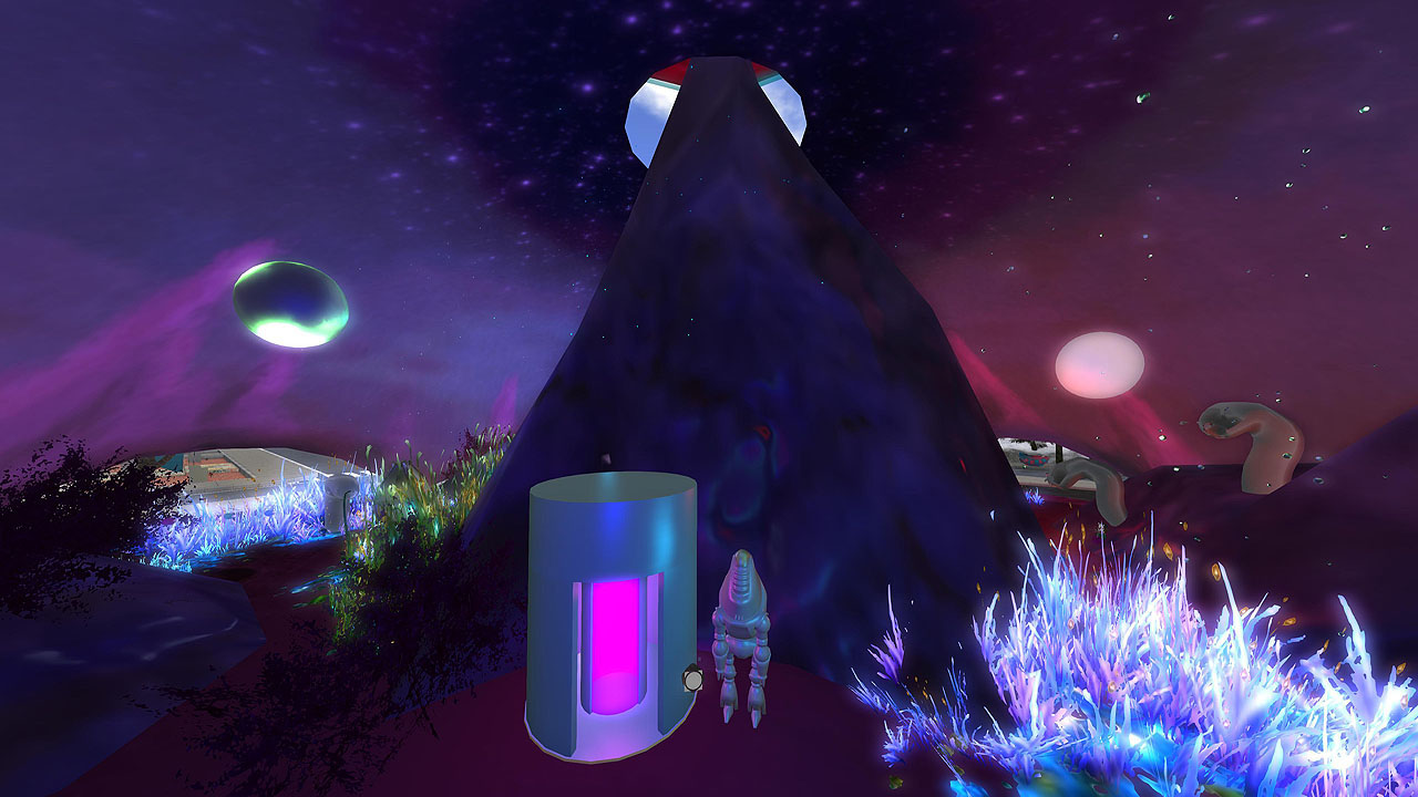 Space Explored by Loki Eliot at Sl16B, photographed by Wildstar Beaumont