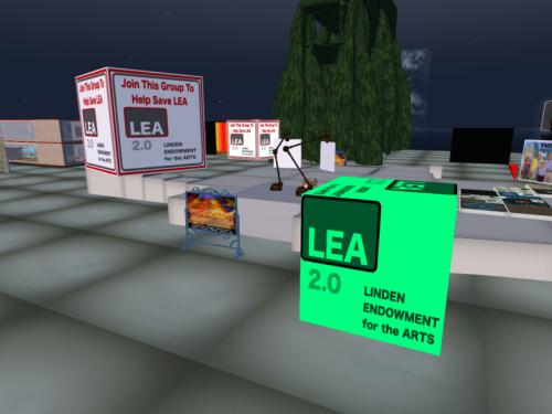 Save the LEA at the LEA Sandbox on LEA5