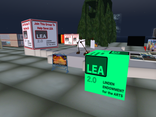 Save the LEA at the LEA Sandbox on LEA5
