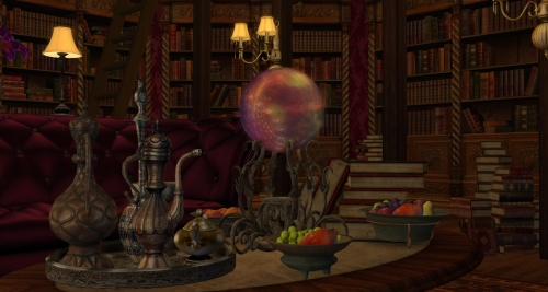 Inside the Library, photographed by Wildstar Beaumont