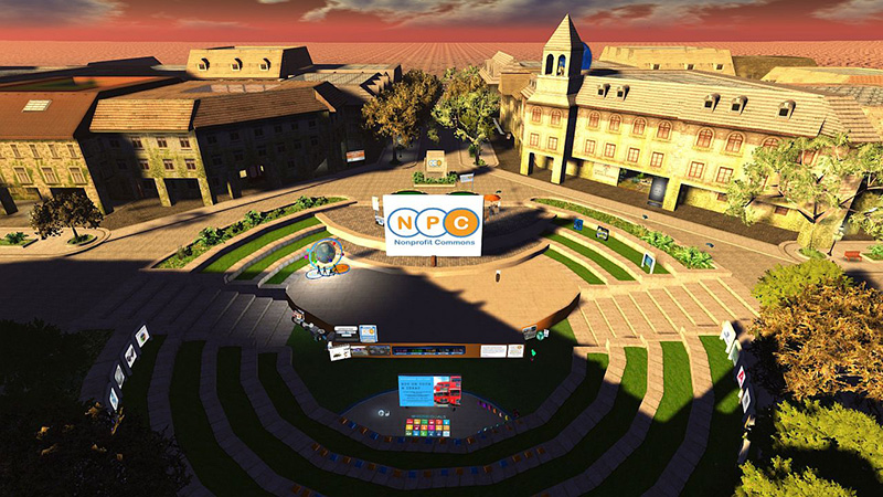 Nonprofit Commons: the ampitheatre, photographed by Wildstar Beaumont