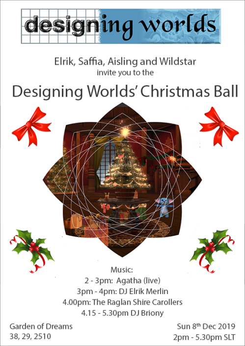 Designing Worlds Christmas Party 2019