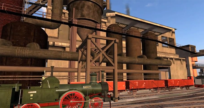 Travelling the Second Life Railroads