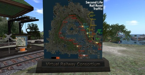 Second Life Railways, photographed by Wildstar Beaumont