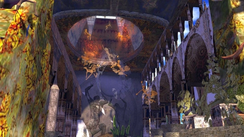 Resident Builds at SL17B, photographed by Wildstar Beaumont